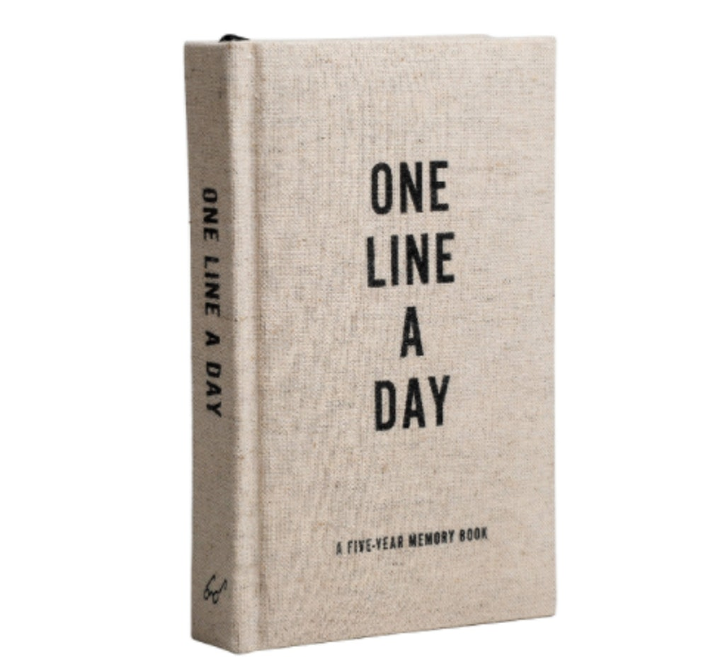 Chronicle Books 'One Line a Day' Memory Book