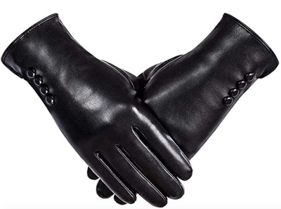 Alepo Wool Lined Leather Gloves