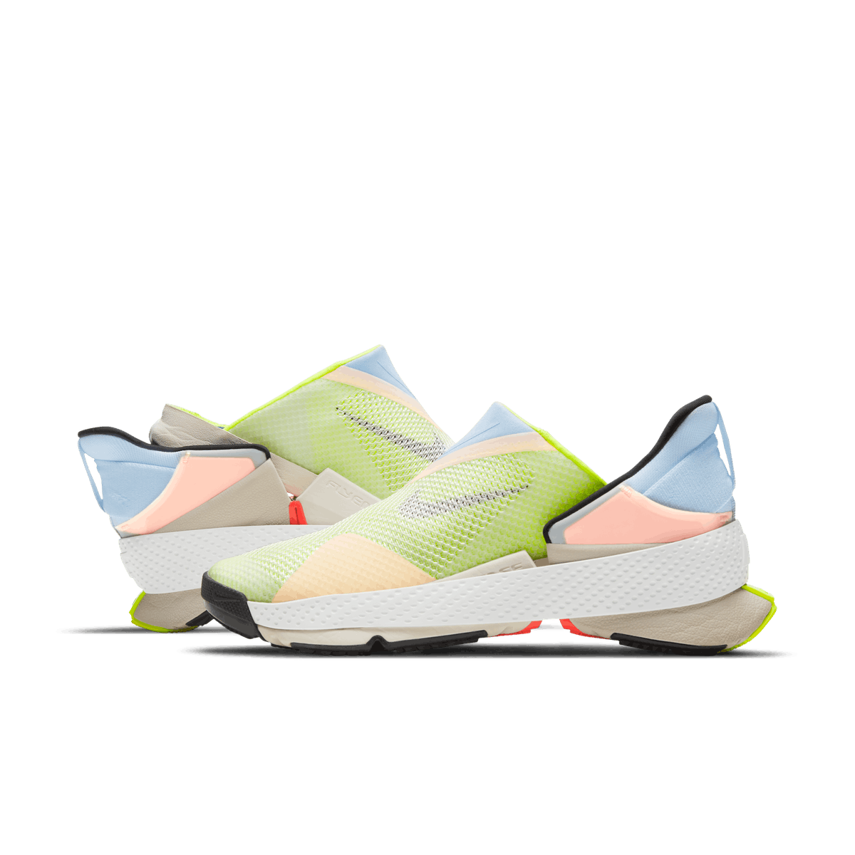 A product image of the hands-free Nike GO FlyEase sneakers.