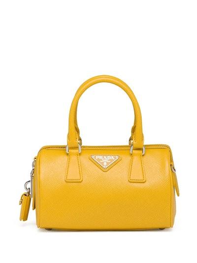 Prada Re-Edition Triangle Logo Tote Bag