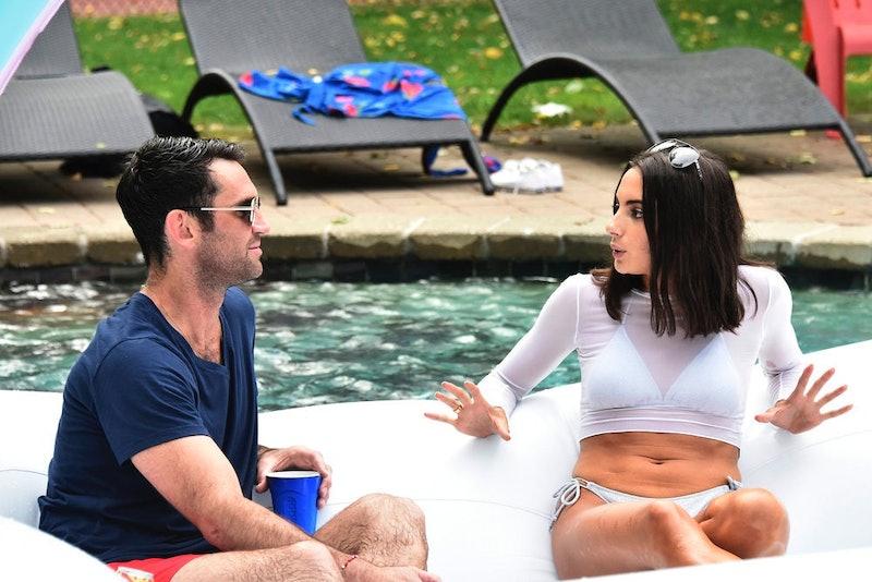 Carl Radke and Paige DeSorbo in 'Summer House' Season 4