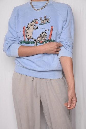 1987 Runaway Cow Sweatshirt