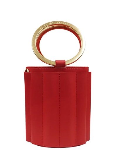 Alkeme Atelier Walter Metal Handle Small Bucket Bag