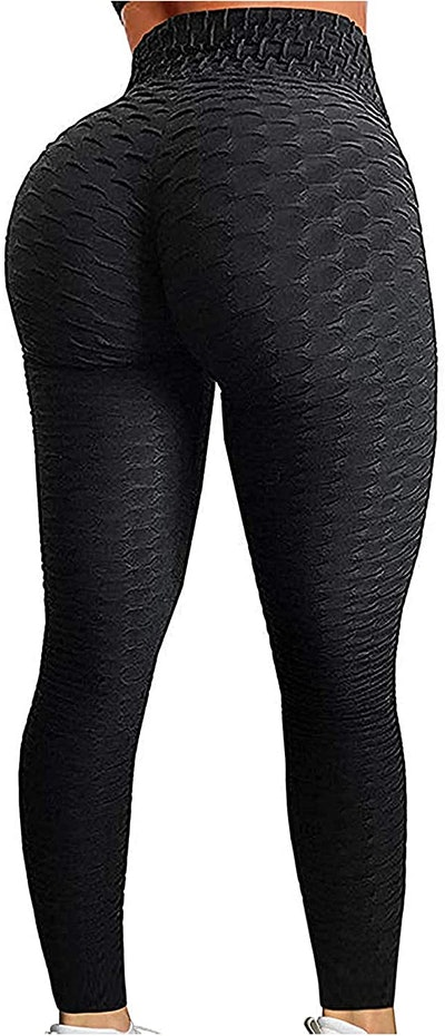 SEASUM Women's High-Waist Yoga Pants