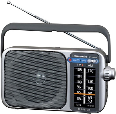 Panasonic RF-2400D AM / FM Portable Radio
