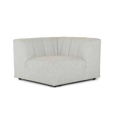 Channeled Back Outdoor Sectional