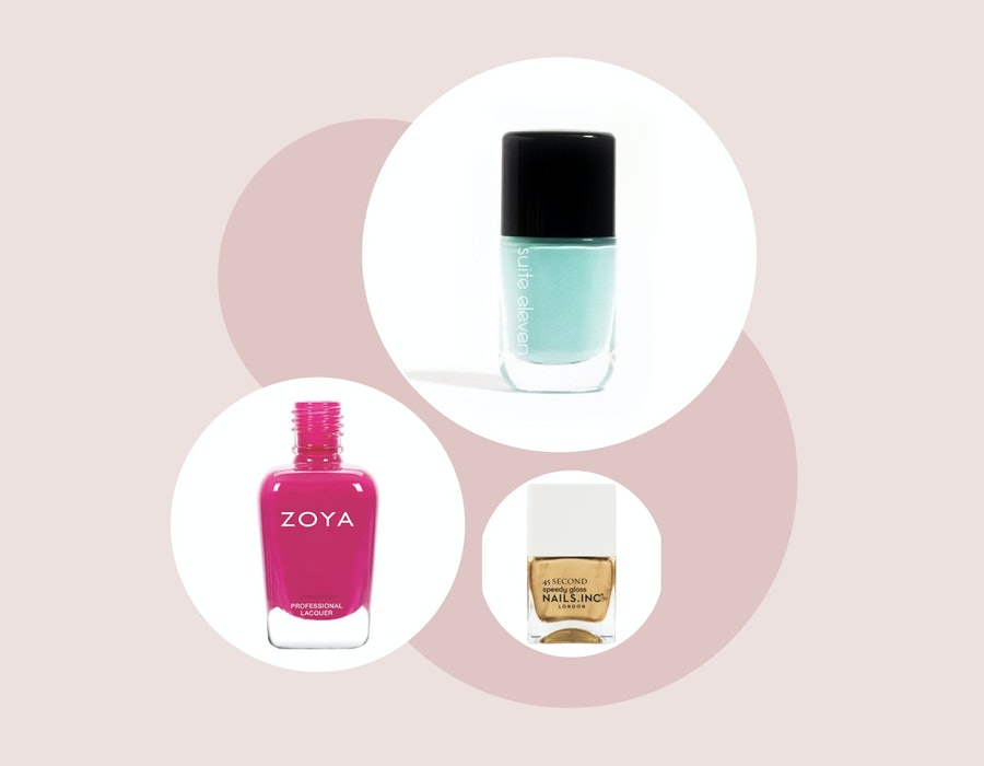 These 15 nail polish colors are perfect for Valentine's Day.