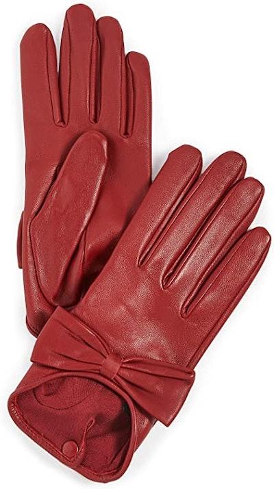 Agnelle Silk Lined Gloves