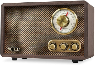 Victrola Retro Wood Bluetooth FM/AM Radio