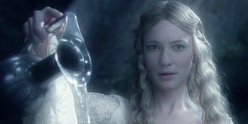 Cate Blanchett as Galadriel in Lord of the Rings: The Fellowship of the Ring