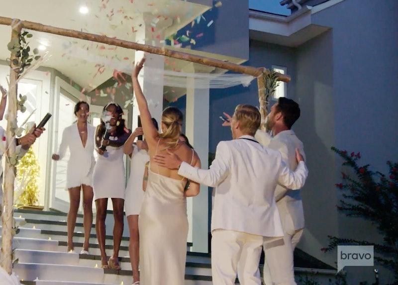 Kyle and Amanda seemingly getting married in 'Summer House' Season 5