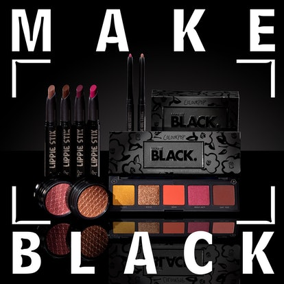 ColourPop Cosmetics Collection featured in Make It Black