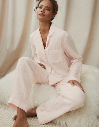 Double Cotton Pyjama Set