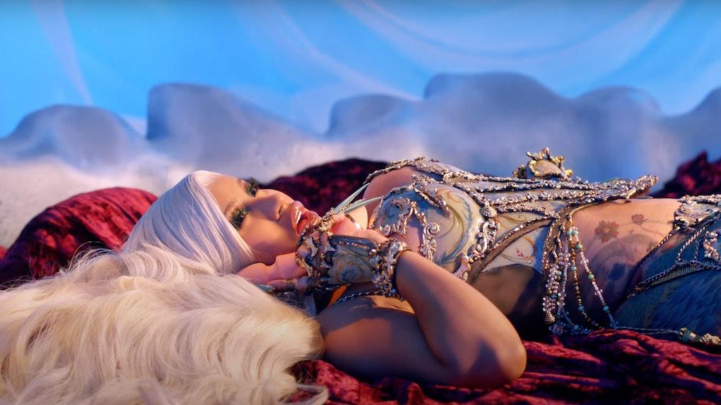 "Cardi B endorsed Vush in her ""Up"" music video."