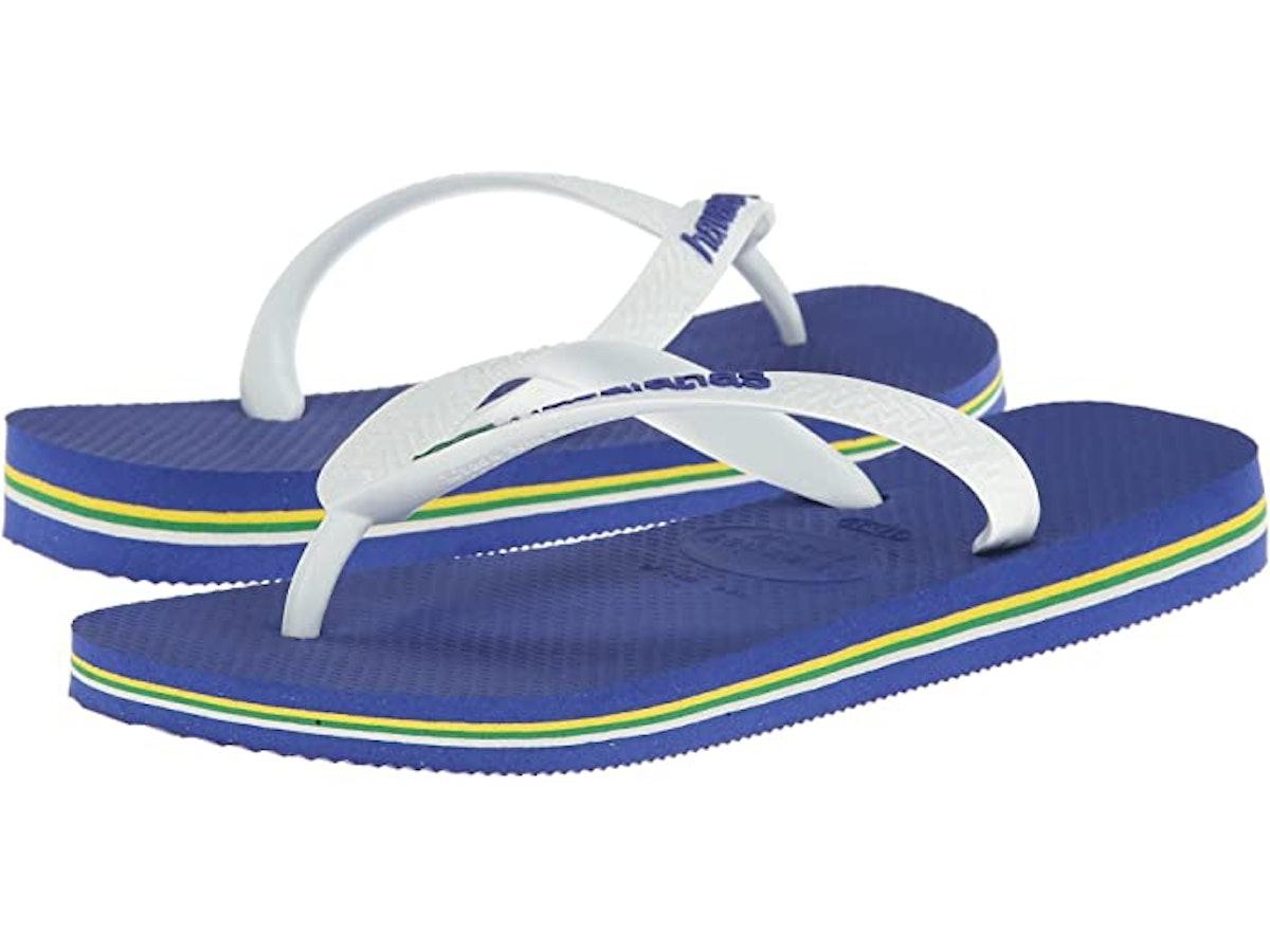 Brazil Unisex Flip Flops