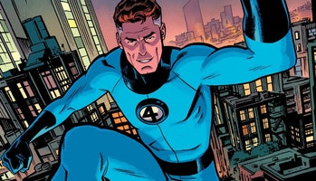 Reed Richards in the Fantastic Four comics