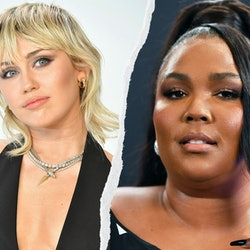 Miley Cyrus and Lizzo have officially made the #MileyChallenge a thing.
