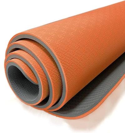 Hatha Yoga Extra Thick TPE Yoga Mat