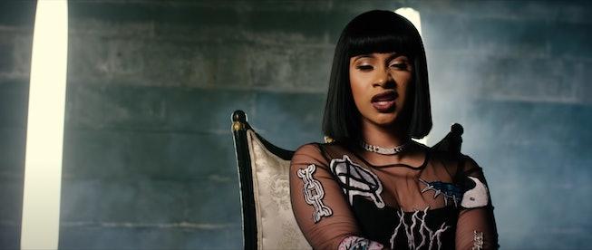 Cardi B in 2017, Bodak Yellow Music Video