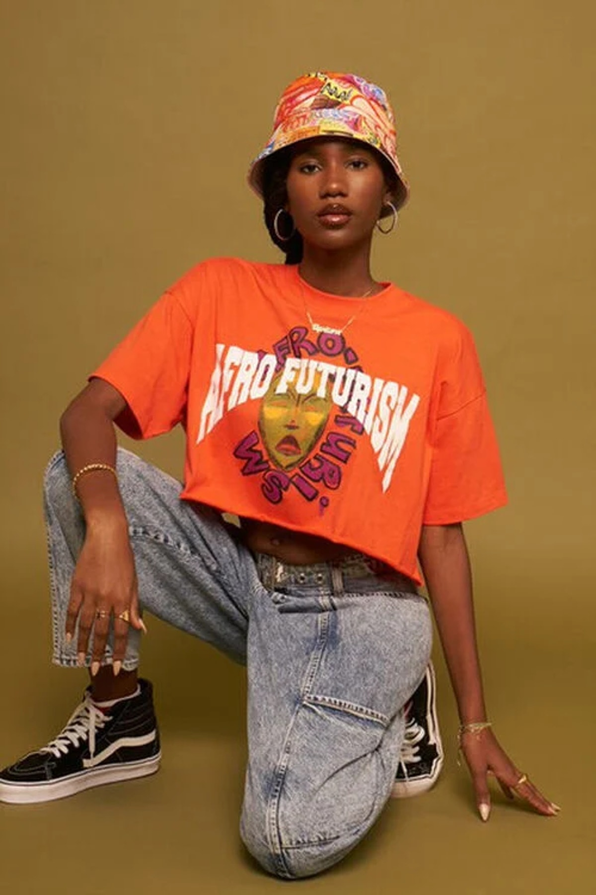 Ashley Walker Afro Futurism Graphic Tee