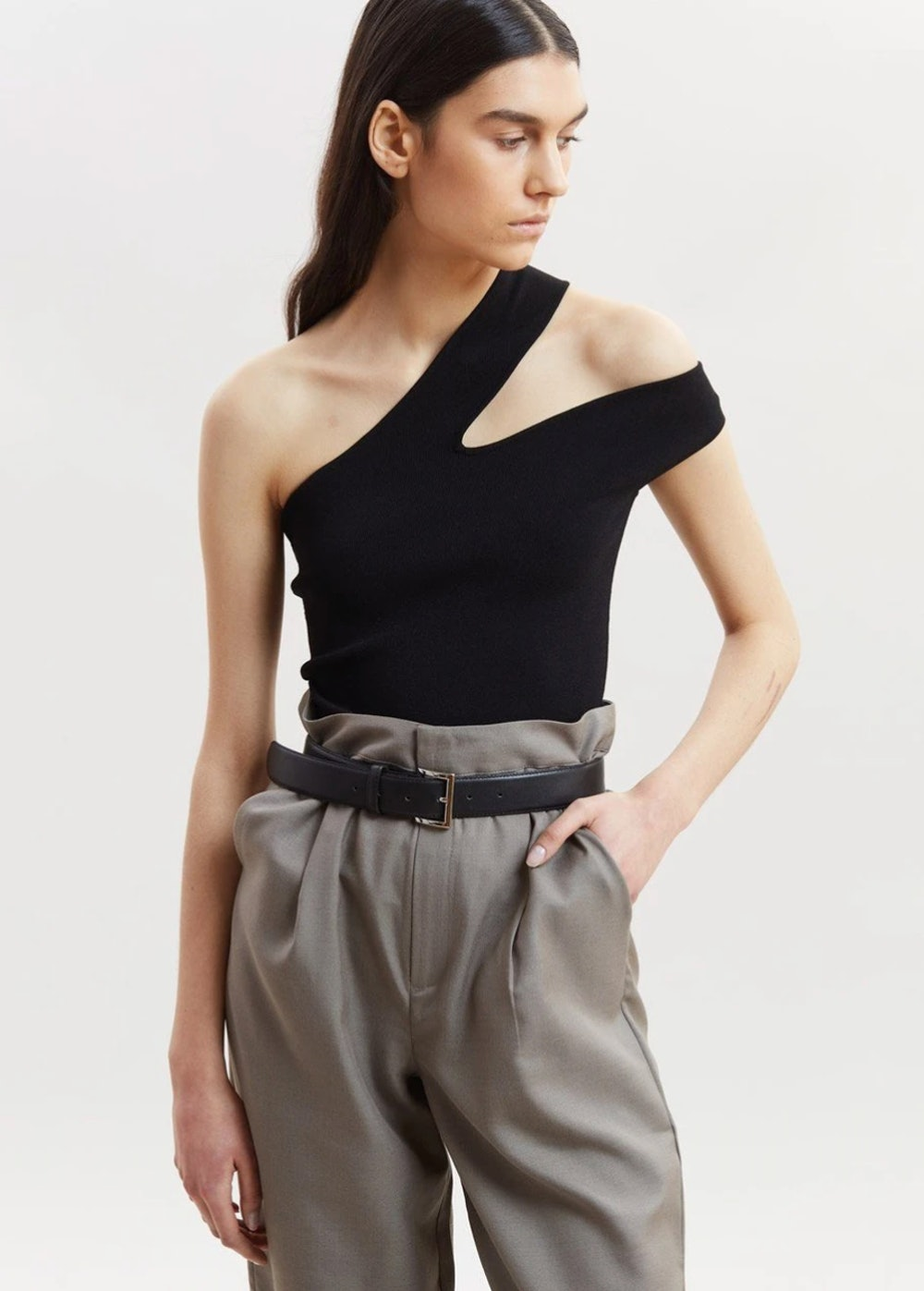 Arlet Knit Cut-Out Top