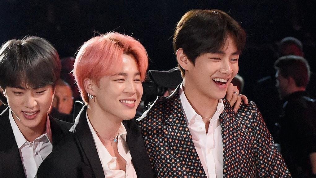 BTS' Jimin and V
