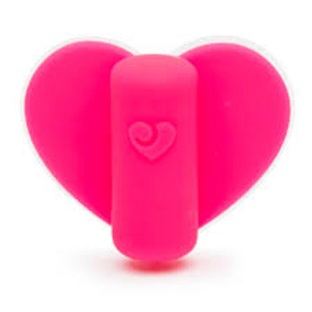 Stuck On Love Clitoral Heart Panty Vibrator