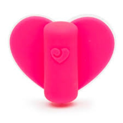 Stuck On Love Clitoral Heart Panty Vibrator