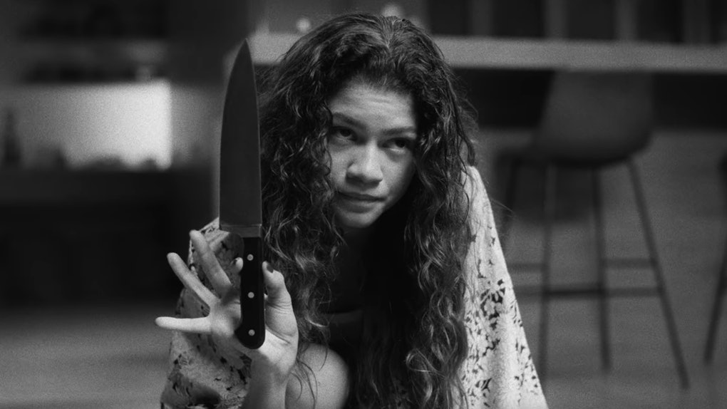 Image result for marie with knife
