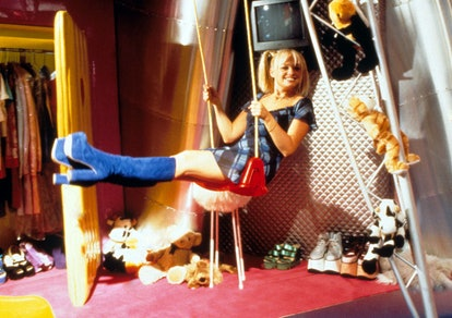 The tour bus in 'Spice World' is like a tardis.