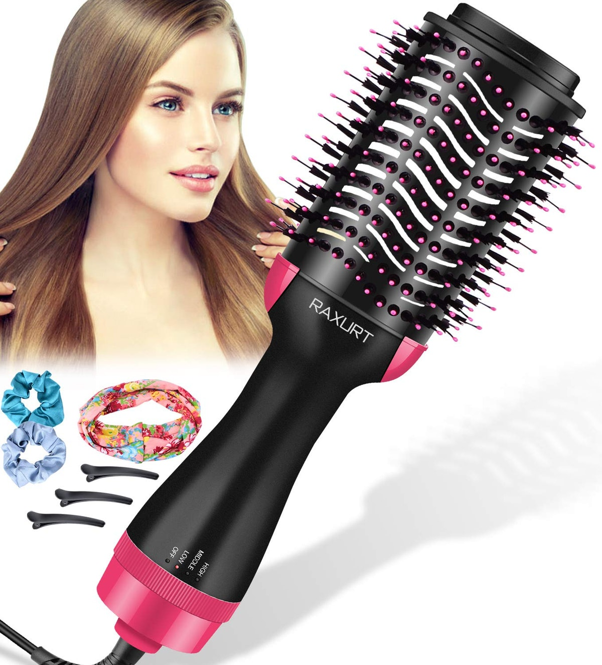 RAXURT Hair Dryer Brush