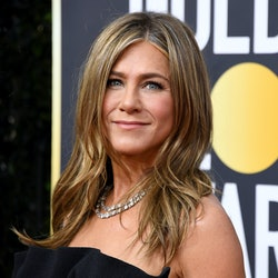 Jennifer Aniston attends the 77th Annual Golden Globe Awards at The Beverly Hilton Hotel on January 5, 2020 in Beverly Hills, California.