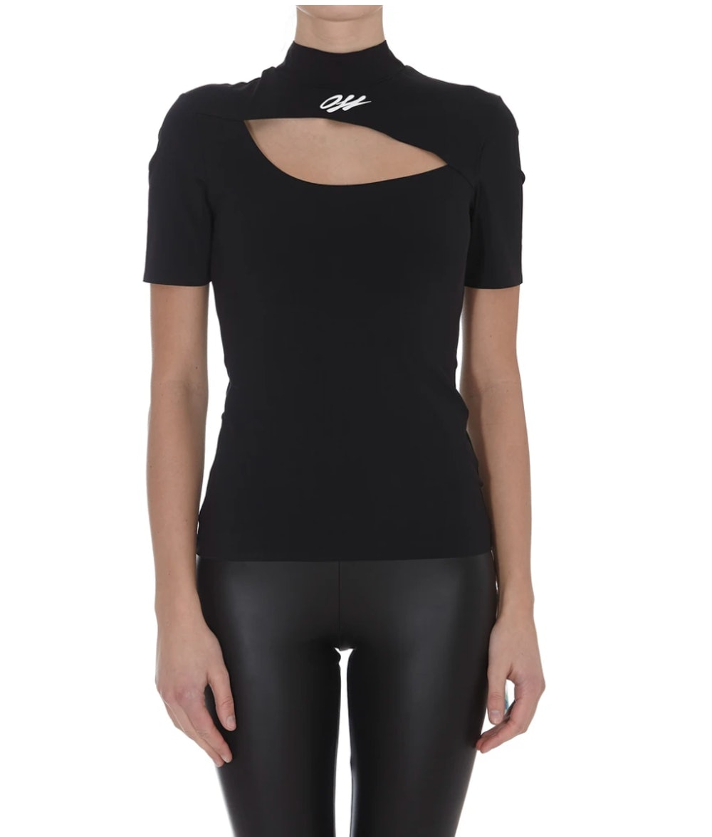 Athleisure Cut-Out Top