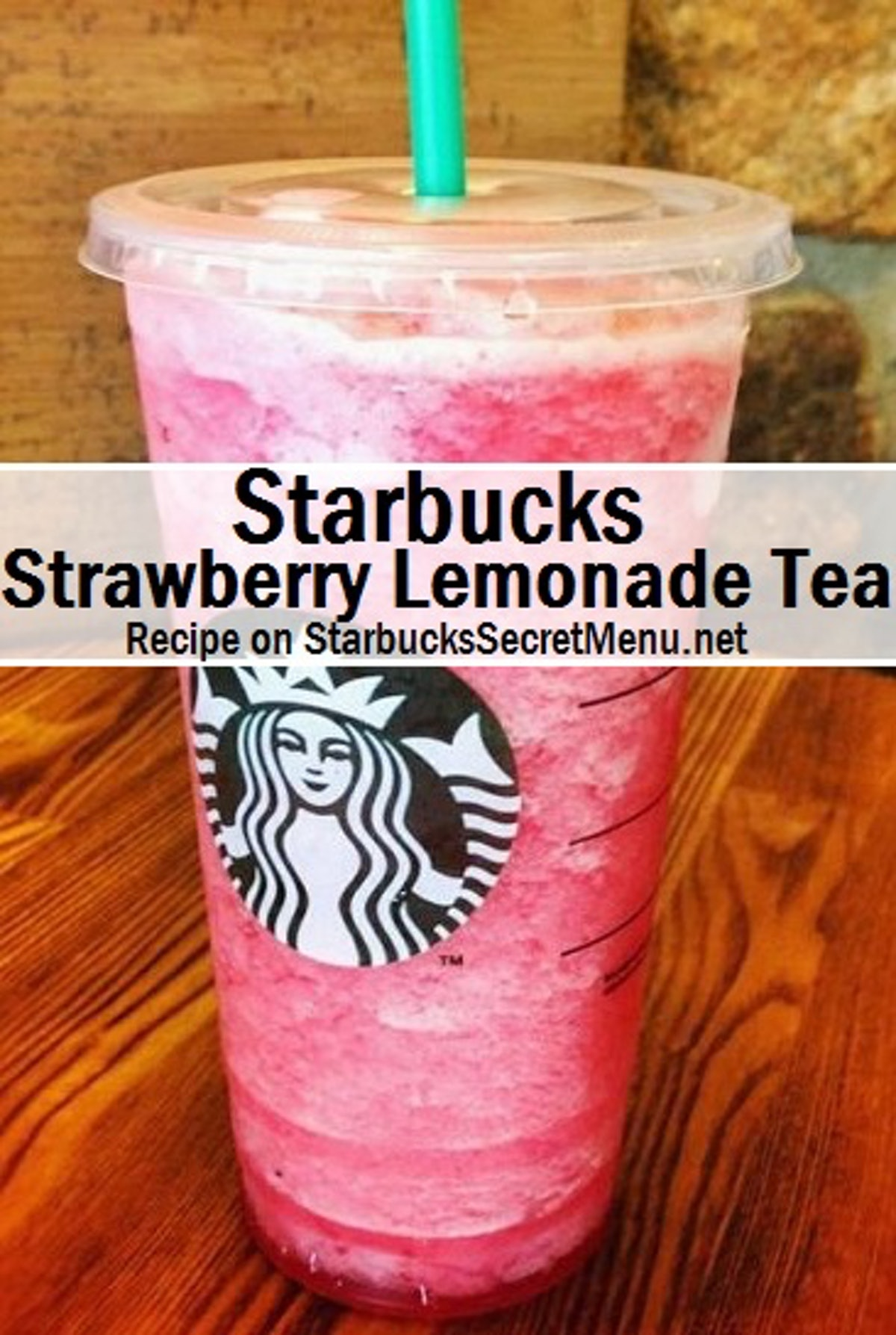 These Starbucks secret menu Valentine's Day 2021 drinks include a strawberry lemonade.
