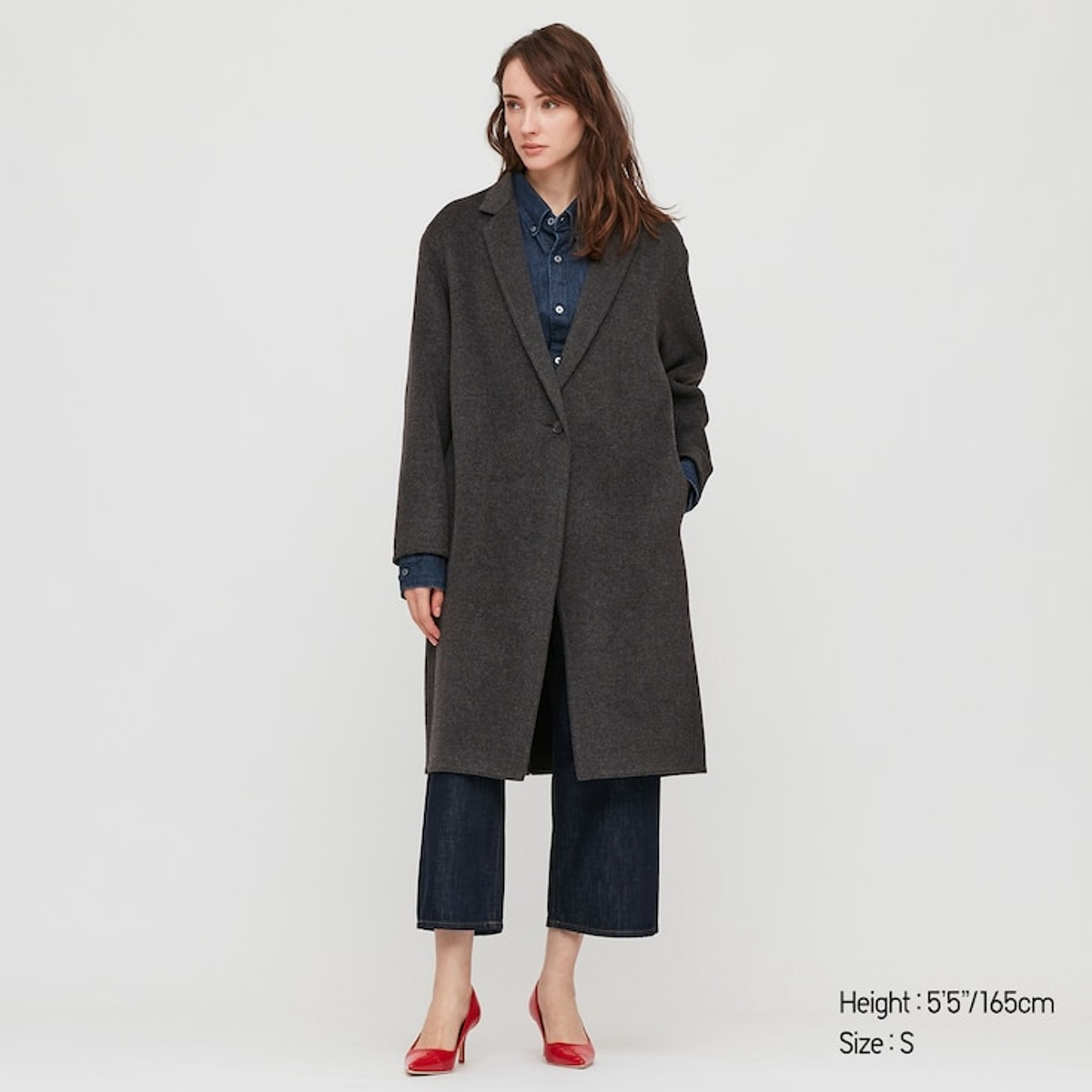 Double Face Cocoon Coat