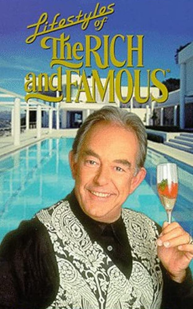 'Lifestyles of The Rich And Famous' host Robin Leach