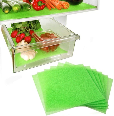 Dualplex Fruit & Veggie Life Extender Fridge Liner (6-Pack)