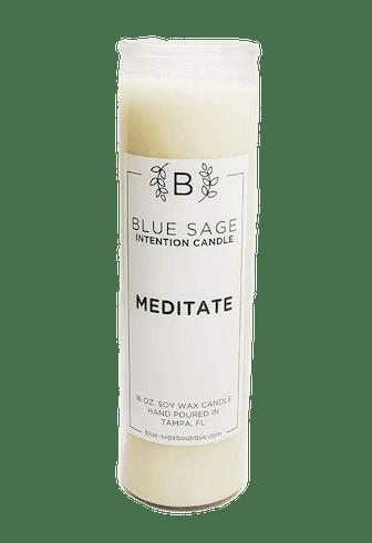 Meditate Candle