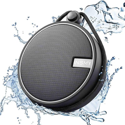 INSMY Waterproof Shower Bluetooth Speaker