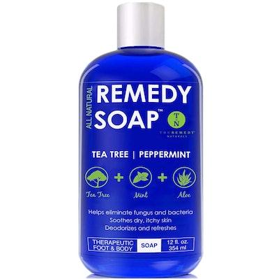 Truremedy Naturals Remedy Soap  Body Wash, 12 Oz.