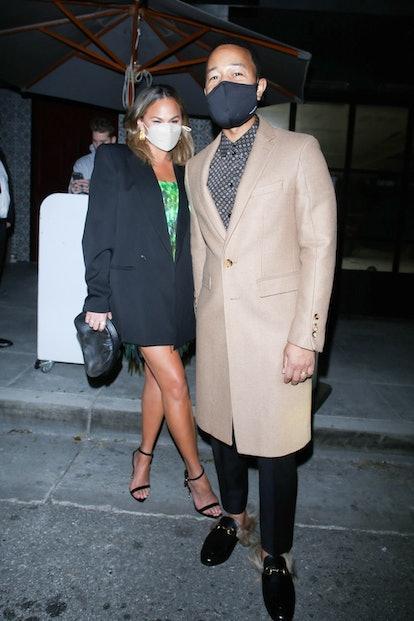 Chrissy Teigen's look landed her on Bustle's list of best-dressed celebrities this week
