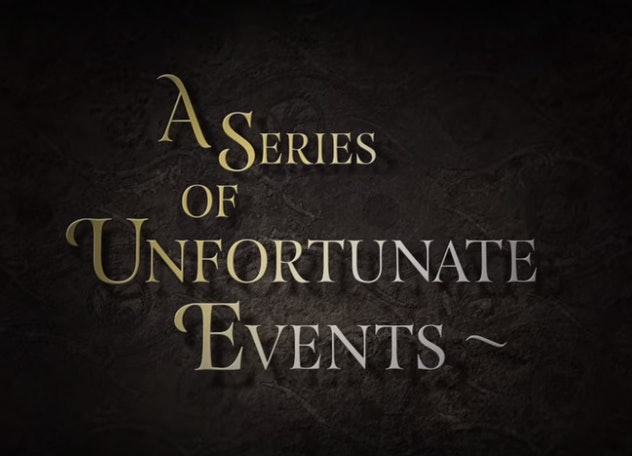 'A Series Of Unfortunate Events' on Netflix