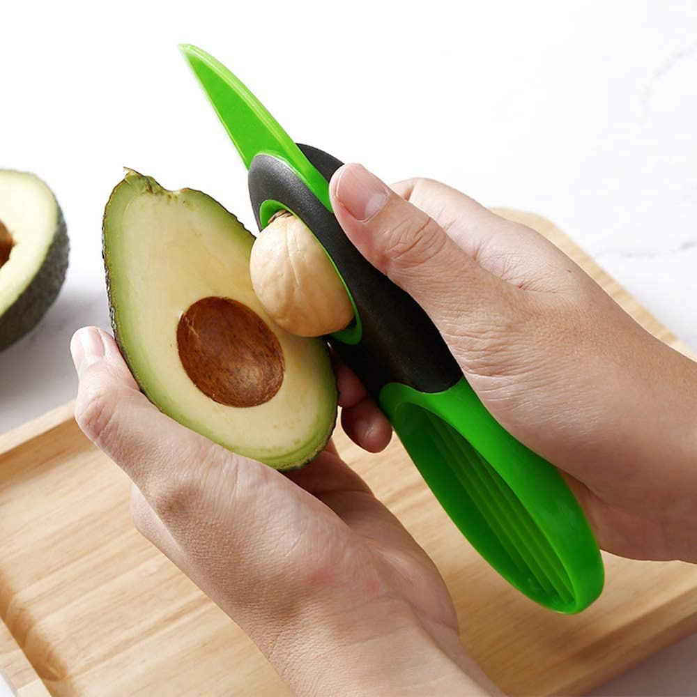 Flycingan 3-in-1 Avocado Slicer