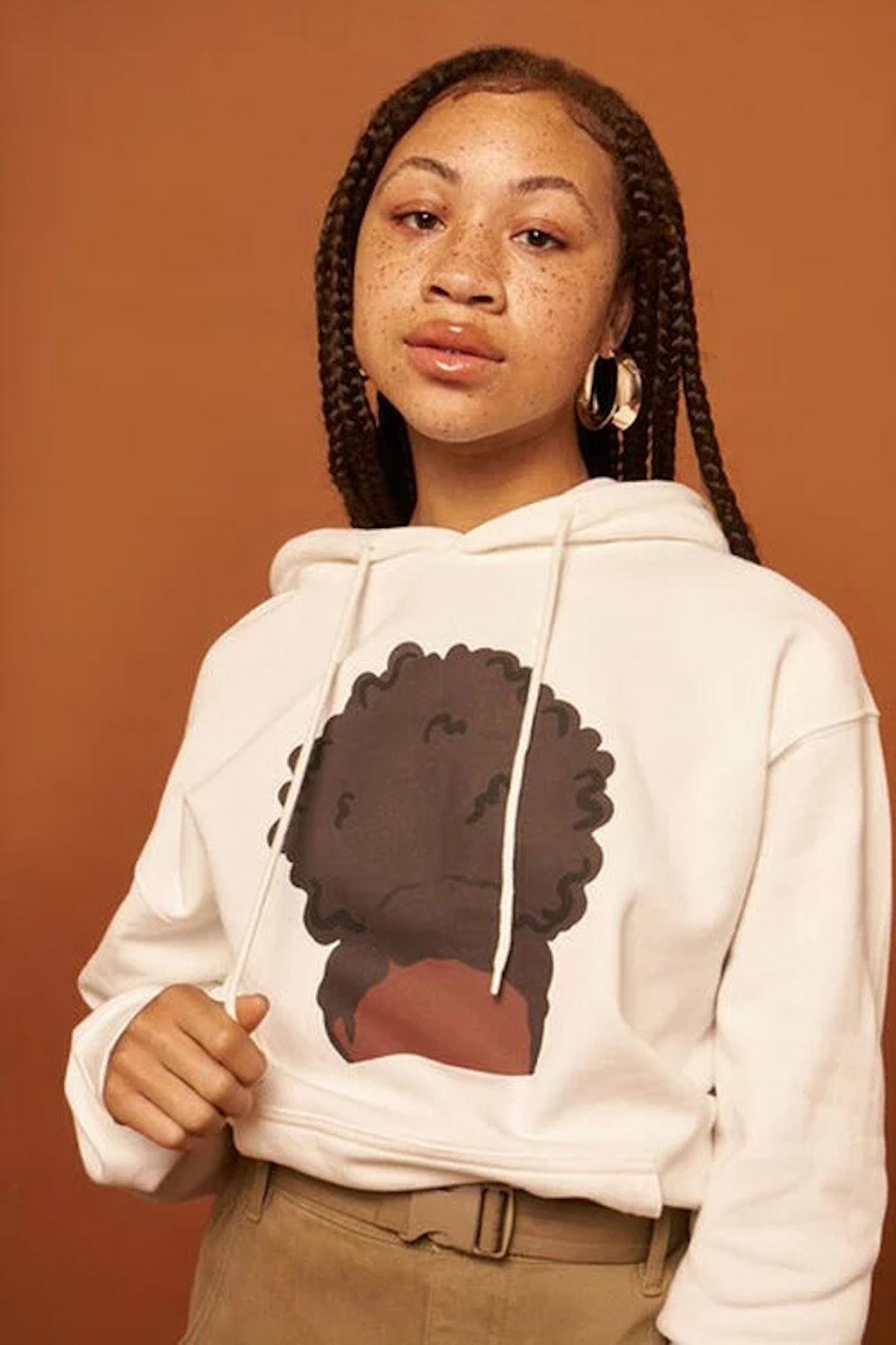 Stormy Nesbit Black Women Matter Graphic Hoodie