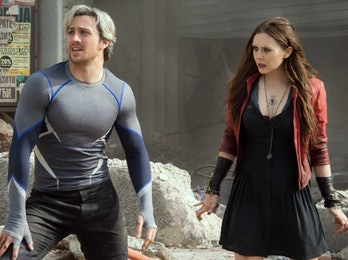 Pietro and Wanda Maximoff in 'Avengers: Age of Ultron.'