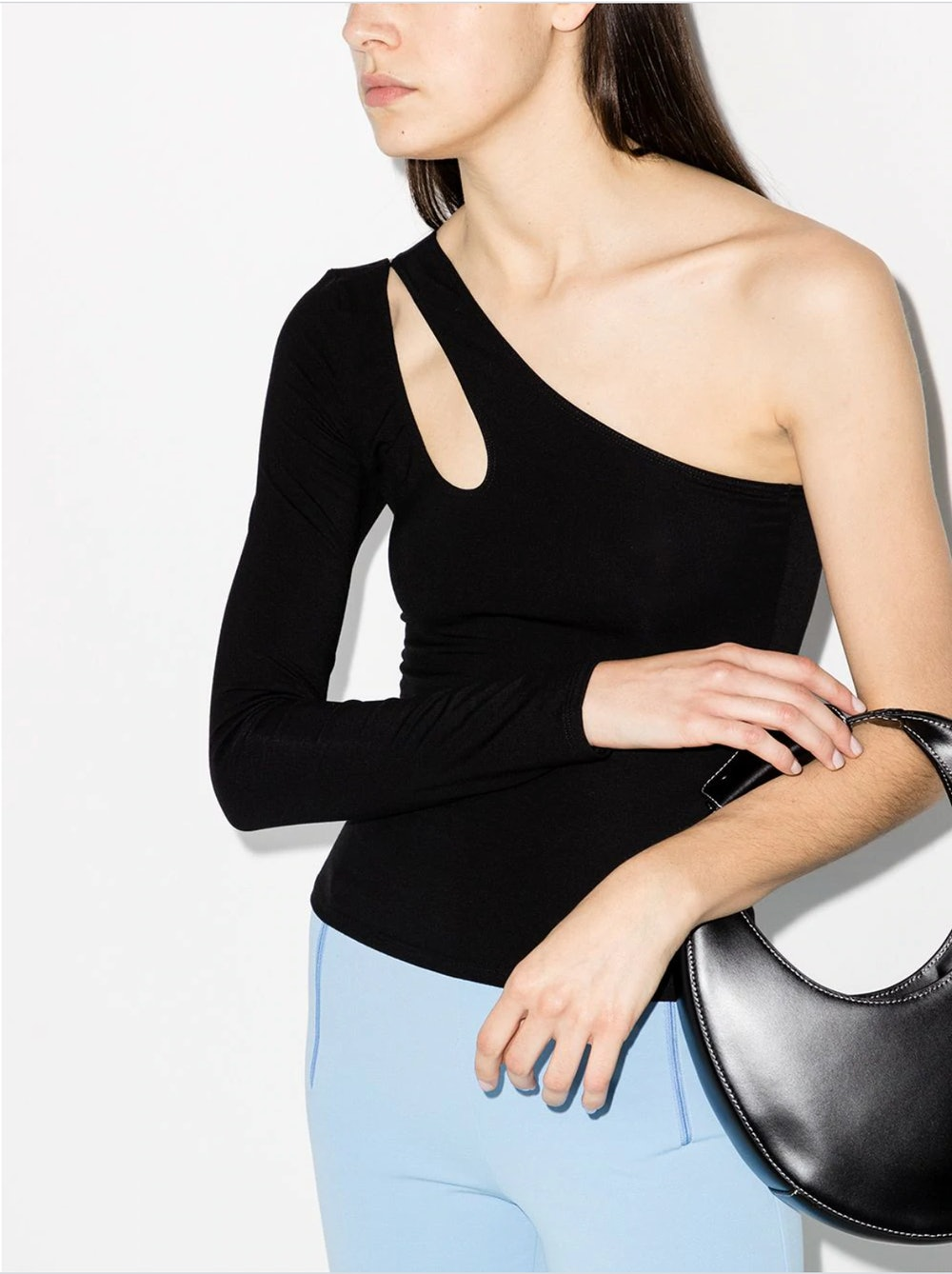 One-Shoulder Cut-Out Top