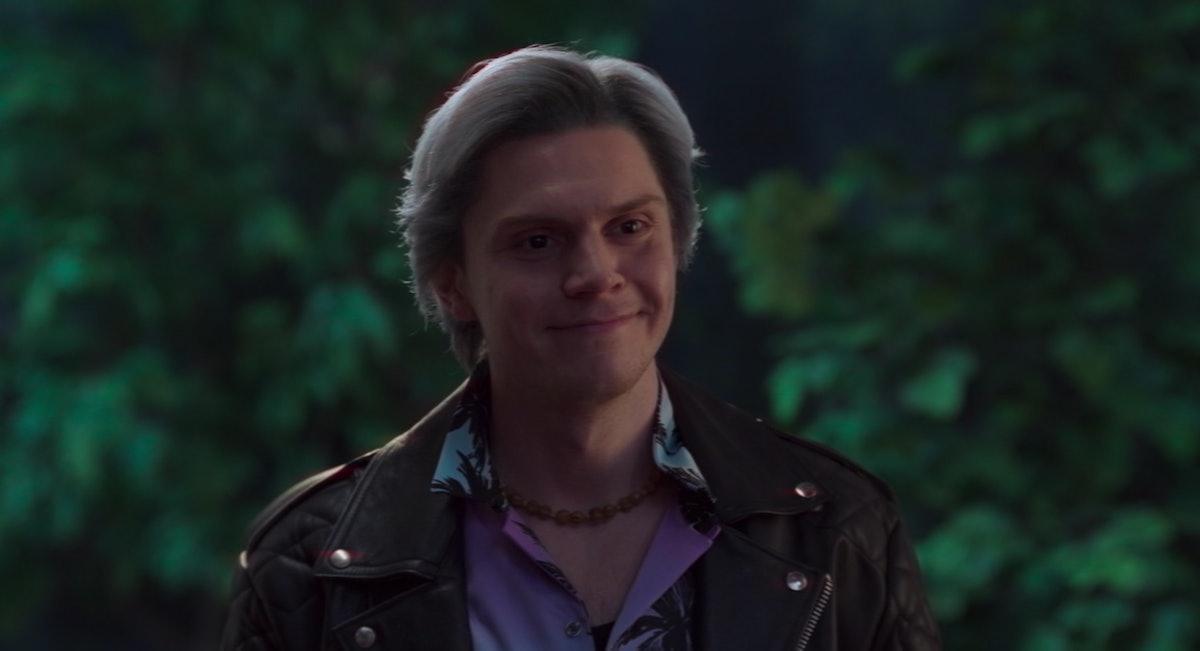 Evan Peters as Pietro/Quicksilver in WandaVision.