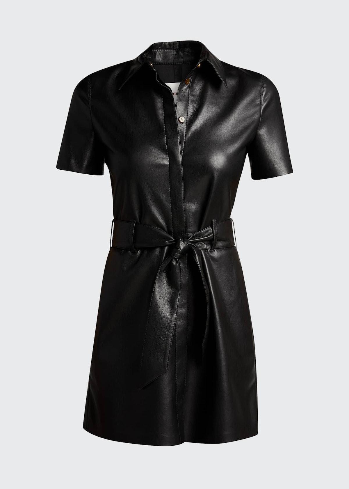 Halli Vegan-Leather Dress