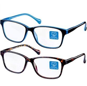 K KENZHOU Blue Light Blocking Glasses