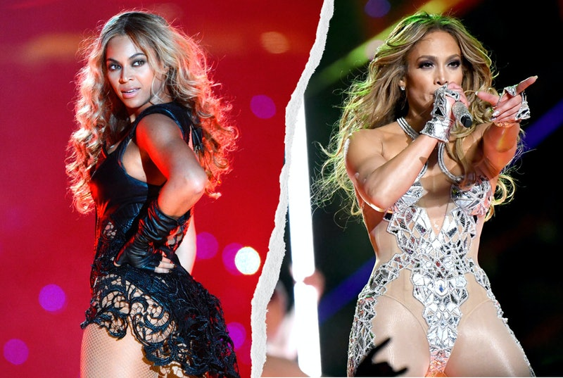 Here are the best Super Bowl halftime show outfits, from Madonna to Beyoncé, Shakira to Janet Jackson.